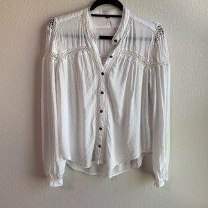 FP button up blouse